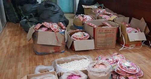 Phú Thọ: Tịch thu 592 hộp mứt Tết giả mạo nhãn hàng hóa