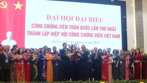 Ban Vận động thành lập Hiệp hội CCV Việt Nam cảm ơn Báo Pháp luật Việt Nam