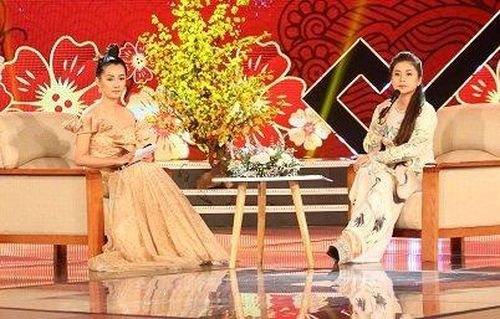 Bà Lê Hoàng Diệp Thảo tham gia chương trình 'Xuân ước vọng – Tết tự hào' của VTC