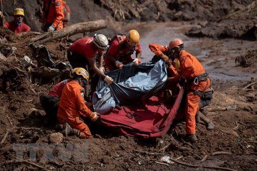 Có 350 người thiệt mạng hoặc mất tích trong vụ vỡ đập tại Brazil