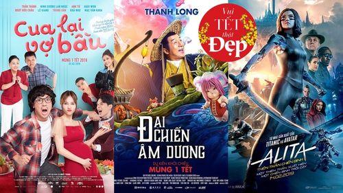 Ba phim Tết không thể bỏ qua dịp đầu năm