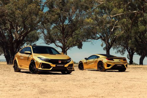 Honda tung sản phẩm mạ vàng, từ xe máy, xe hơi cho tới máy cắt cỏ