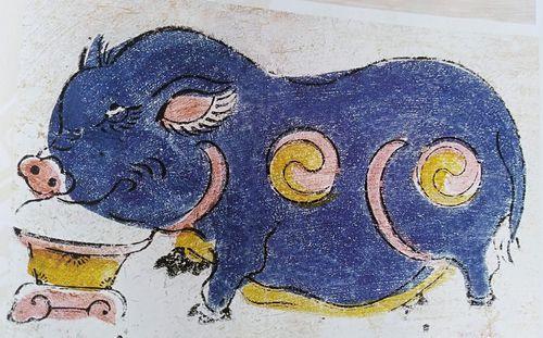 2019 là năm Kỷ Hợi, nhưng bạn biết lợn được khắc họa thú vị thế nào trong dân gian chưa?