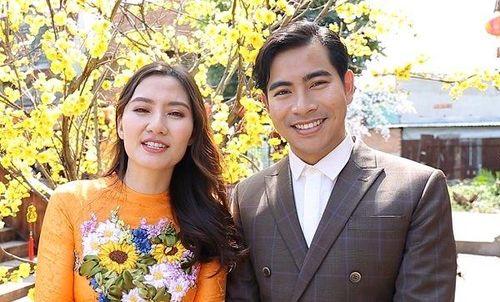 Vợ chồng Ngọc Lan – Thanh Bình chúc Tết độc giả VTC News
