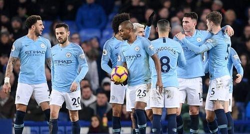 Thắng Everton, ManCity tái chiếm ngôi đầu bảng