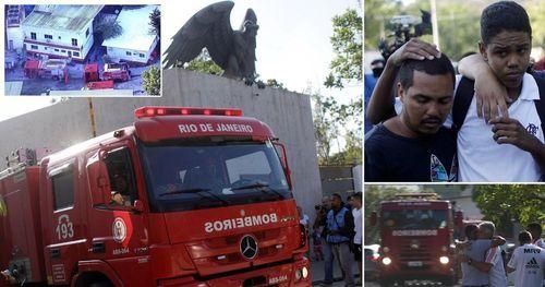 Cháy lớn tại trung tâm bóng đá ở Brazil,10 cầu thủ thiệt mạng