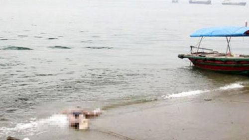 Phát hiện xác chết không đầu trôi dạt trên biển ở Phú Quốc