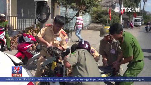 Tài xế xe cứu thương ngủ gật gây tai nạn nghiêm trọng tại An Giang
