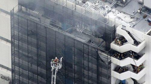 Cháy lớn tại nhà kho ở Nhật Bản, 4 người thương vong