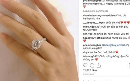 Đúng ngày Valentine, Phạm Hương được đại gia cầu hôn