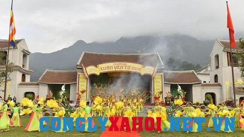 Khai hội Xuân Yên Tử 2019