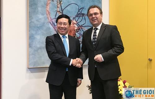 Làm sâu sắc hơn quan hệ Đối tác chiến lược Việt - Đức