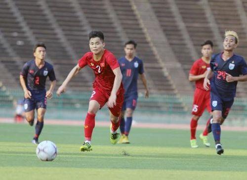 Hòa U22 Thái Lan, tuyển Việt Nam vào bán kết với ngôi đầu bảng