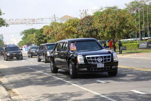 Những phương tiện từng phục vụ ông Trump tại Việt Nam