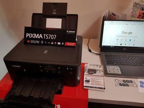 Máy in mới PIXMA TS707 giá 4,2 triệu đồng có đáng mua?