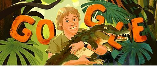 PETA bị phản ứng dữ dội vì chỉ trích Google Doodle về Người săn cá sấu Steve Irwin và 'Bố già thời trang' Karl Lagerfeld