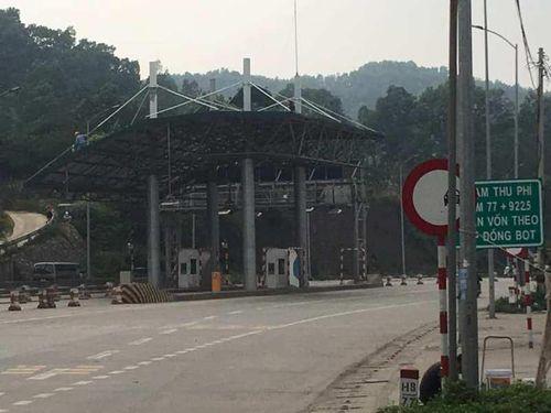 Chưa rõ thời điểm thu phí tại trạm BOT Bờ Đậu - Thái Nguyên