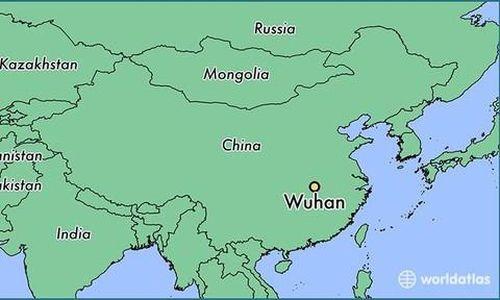 Đoàn tàu của ông Kim đã đi qua thành phố Vũ Hán, Trung Quốc