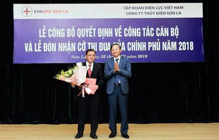 Ông Khương Thế Anh được bổ nhiệm Giám đốc Công ty Thủy điện Sơn La