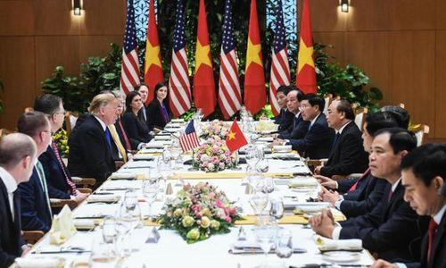 Thực đơn bữa trưa Việt Nam đãi Tổng thống Donald Trump