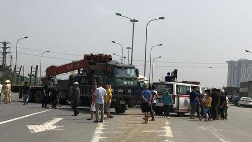 Bắt tạm giam 4 tháng lái xe tải gây ra vụ tai nạn 2 người chết ở Đại lộ Thăng Long