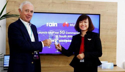 Rain và Huawei cùng ra mắt Mạng thương mại 5G đầu tiên tại Nam Phi