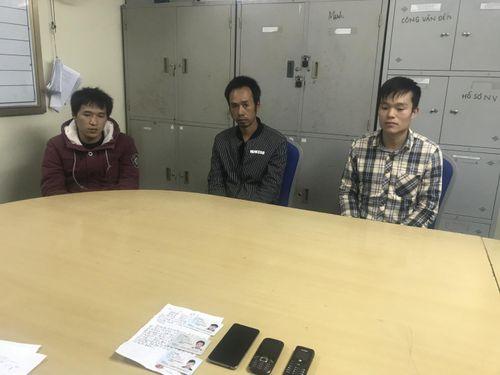 Bắt 3 đối tượng người Trung Quốc trốn truy nã sang Việt Nam