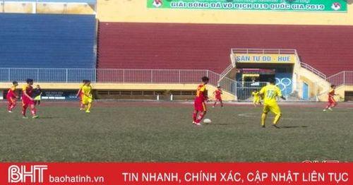 Thua Thanh Hóa 0 - 2, U19 Hồng Lĩnh Hà Tĩnh chia tay mùa giải quốc gia 2019
