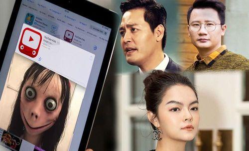 Sao Việt đồng loạt lên tiếng về 'Quái vật Momo' trên Youtube khiến trẻ tự tử