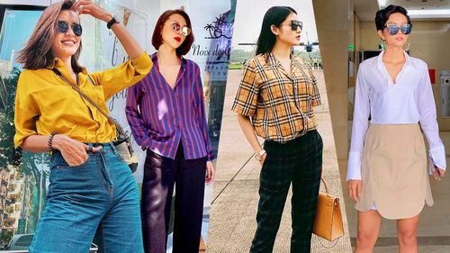 Sao Việt 'phù phép' trang phục đơn giản hóa sang chảnh, sành điệu trong loạt street style tuần qua