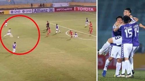 Duy Mạnh được tôn vinh với 'siêu phẩm' sút xa đẹp mắt tại AFC Cup!