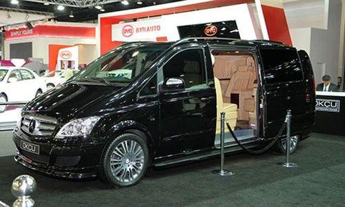 Xe Van Mercedes-Benz V-Class siêu sang chảnh dành cho tỷ phú