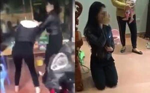 Nhân tình của chồng đánh ghen, xịt dung dịch 'lạ' vào mặt người vợ