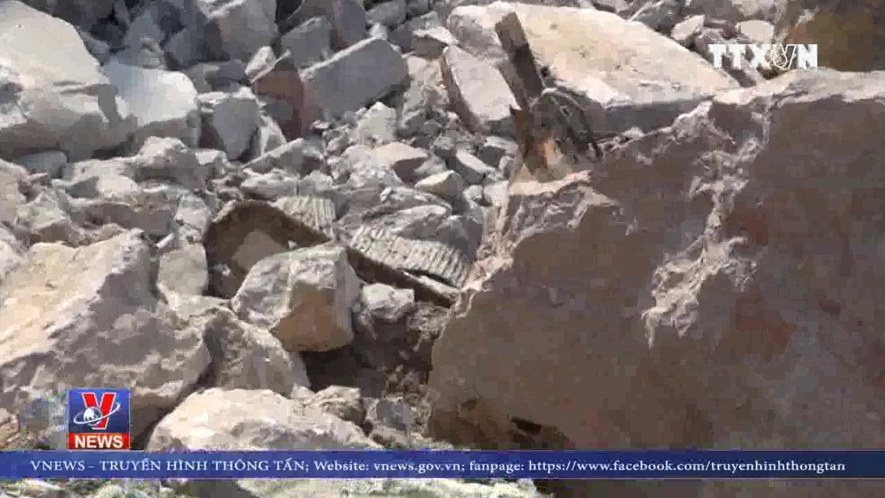 Sập mỏ đá ở Cao Bằng, 2 công nhân tử vong