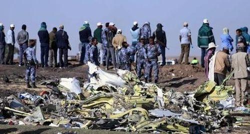 Ám ảnh khoảnh khắc máy bay Ethiopia lao thẳng xuống đất