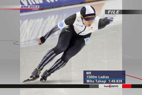 Kỷ lục thế giới mới về trượt băng tốc độ