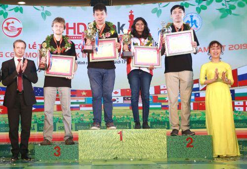 Giải cờ vua quốc tế HDBank lần 9: Bài học lớn cho các kỳ thủ Việt Nam