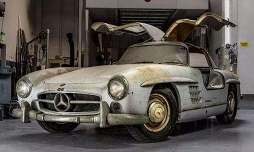 Soi xe Mercedes-Benz 'đồng nát' đấu giá khoảng 100 tỷ đồng