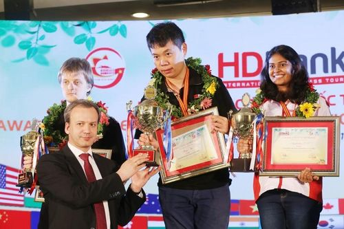 Siêu Đại kiện tướng Trung Quốc đăng quang HDBank Masters 2019