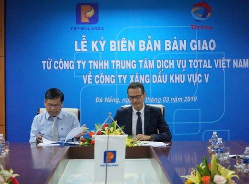 Hoàn tất chuyển giao TSCV của Total Việt Nam về Petrolimex Đà Nẵng