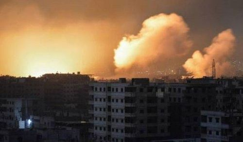Không quân Nga, Syria 'tung đòn tổng lực' tại Idlib