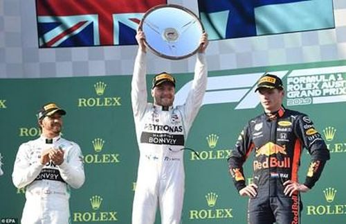 Valtteri Bottas về nhất tại Australian Grand Prix 2019