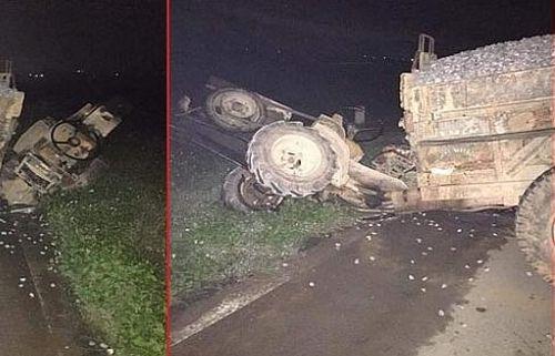 Công nông va chạm 2 xe máy, 3 người thương vong