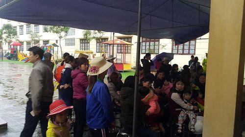 Bắc Ninh đồng loạt lấy mẫu máu xét nghiệm sán ở 19 trường mầm non