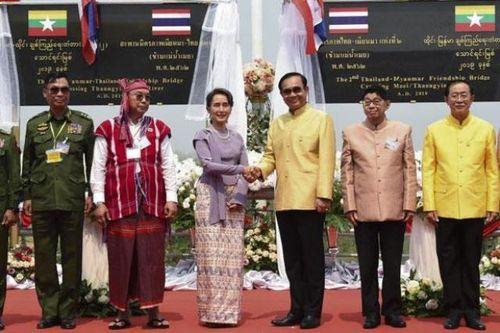 Khánh thành cầu hữu nghị thứ hai nối Thái-lan và Myanmar