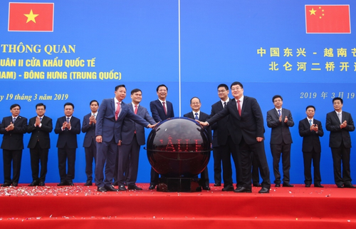 Quảng Ninh thông quan cầu Bắc Luân II