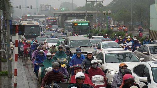 Hà Nội nghiên cứu cấm xe máy theo giờ trên 6 tuyến phố