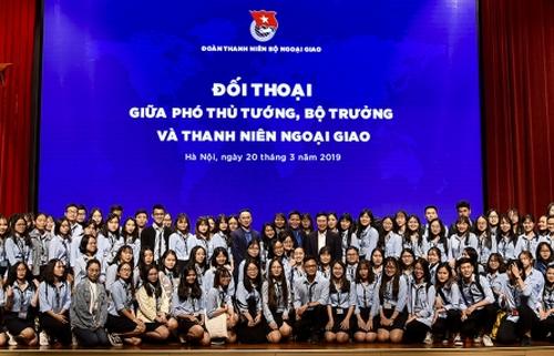 'Thanh niên ngoại giao cần có khát vọng, chủ động, sáng tạo, tự tin và kỷ luật'