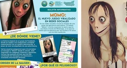 Hiểm họa 'Momo' và cách bảo vệ con trẻ