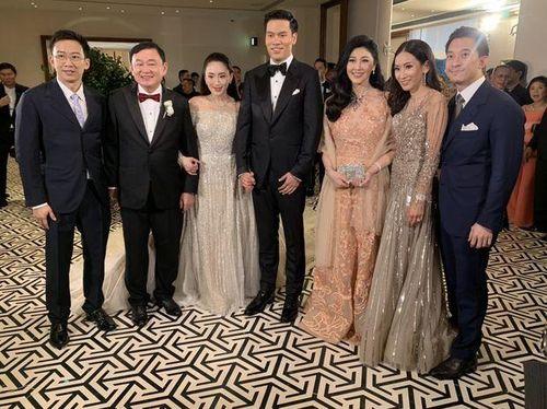 Công chúa Thái Lan có mặt trong đám cưới con gái ông Thaksin